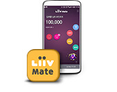 LG U+와 KB금융그룹이 함께 제공하는 KB금융그룹 통합 포인트 기반 생활 금융 서비스 Liiv Mate